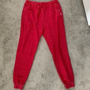 Hollister fleece joggers - medium